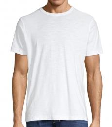 White Crewneck Cotton T-Shirt