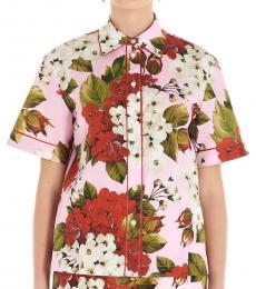 Multi color Gerani Poplin Shirt