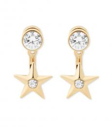 Gold Celestial Earrings