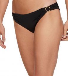 Black O-Ring Bikini Bottom