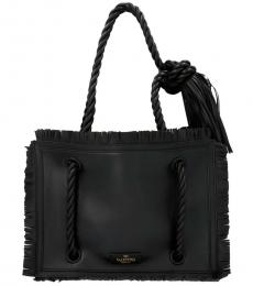 Black The Rope Large Tote