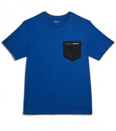 Sapphire Mixed Media T-Shirt