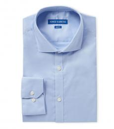 Blue Slim Dress Shirt
