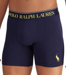 Ralph Lauren Navy Stretch-Cotton Boxer Briefs