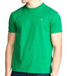 Ralph Lauren Bottle Green Classic Crewneck T-Shirt