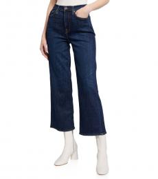 7 For All Mankind Lennox Cropped Wide-Leg Jeans