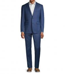 Vince Camuto Dark Blue Slim Stretch Suit