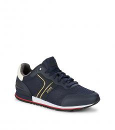 Hugo Boss Navy Parkour Runner Sneakers