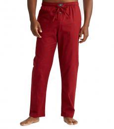 Ralph Lauren Red Pony Flannel Pajama Pant