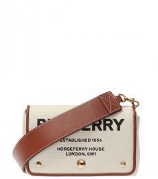 Burberry Beige Hackberry Mini Crossbody Bag