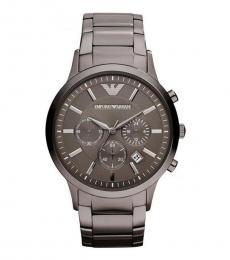 Emporio Armani Silver Classic Watch