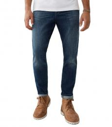 True Religion Blue Mick Slouchy Skinny Jeans