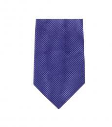 Blue Classic Slim Silk Tie