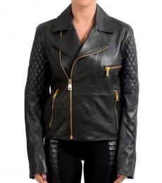 Black Full Zip Basic Jacket