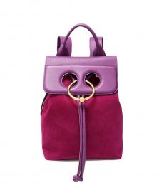 Violet Pierced Small Backpack