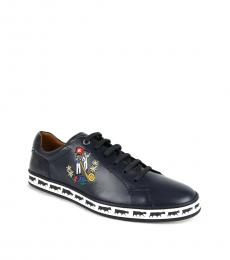 Bally Ink Blue Anistern Sneakers