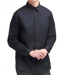 Black SaT-Shirtn Button-Up Shirt