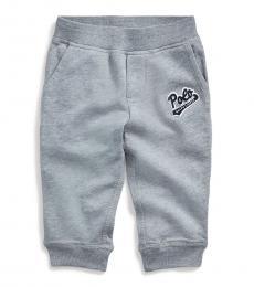 Ralph Lauren Baby Boys Heather Terry Jogger Pants