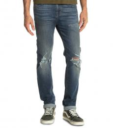 Blue Paxtyn Skinny Jeans