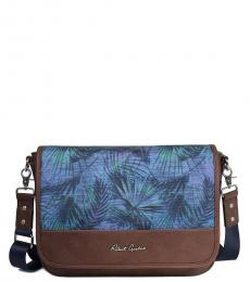 Robert Graham Botanical Refuel Compact Large Messenger Bag