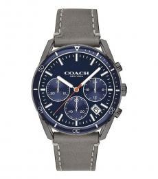 Coach Grey Chronograph Watch