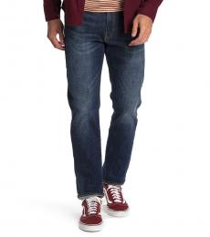 Lucky Brand Dark Blue Athletic Slim Fit Jeans