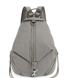 Rebecca Minkoff Grey Julian Medium Backpack