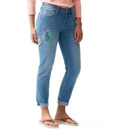 Denim Slim Boyfriend Jeans