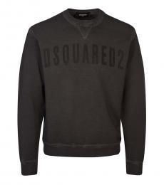 Dsquared2 Dark Grey Logo Graphic Sweatshirt