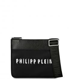 Philipp Plein Black Logo Small Crossbody
