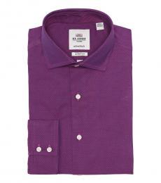 Purple Tailored Slim Fit Shirt