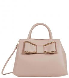 Betsey Johnson Blush Mona Large Satchel