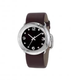 Marc Jacobs Brown-Silver Amy Watch