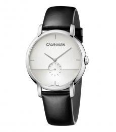 Calvin Klein Black Established Logo Watch
