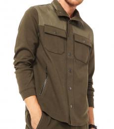 Olive Mel Ponte Field Jacket