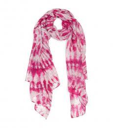 Calvin Klein Flamingo Tie Dye Scarf