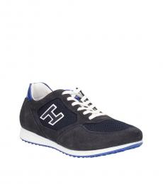 Blue White Classic Sneakers