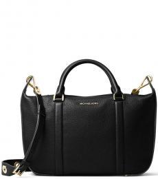 Michael Kors Black Raven Large Messenger Bag