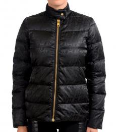 Black Goose Down Parka Jacket