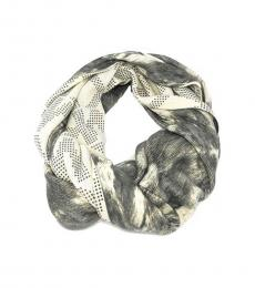 Grey Luxe Infinity Scarf
