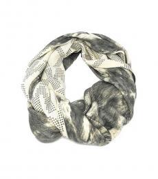 Michael Kors Grey Luxe Infinity Scarf