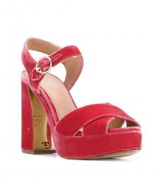 Tory Burch Pink Loretta Pumps