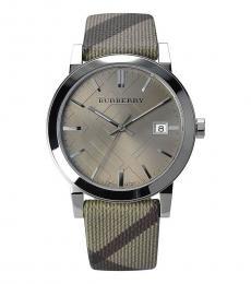 Burberry Beige Heritage Watch