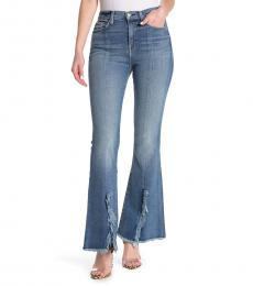 Light Blue Josefina High-Rise Flared Jeans