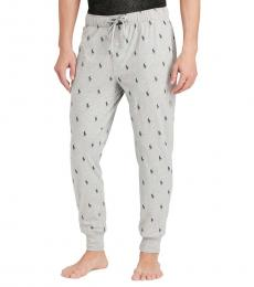 Ralph Lauren Andover Heather Pony Jersey Joggers