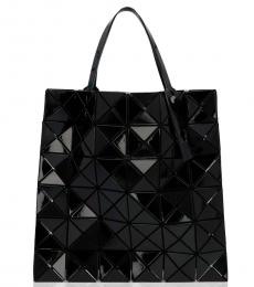 Black Lucent Medium Tote