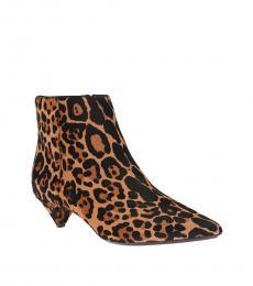 Leopard Larissa Boots