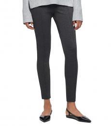 Calvin Klein Grey Marled Stretch Pants