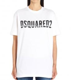 Dsquared2 White Dyed T-Shirt