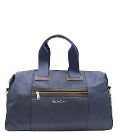 Robert Graham Navy Leclerc Weekend Large Duffel Bag